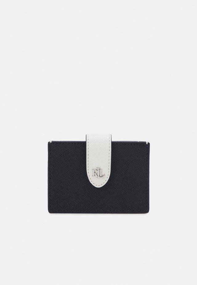CROSSHATCH CARD - Wallet - navy