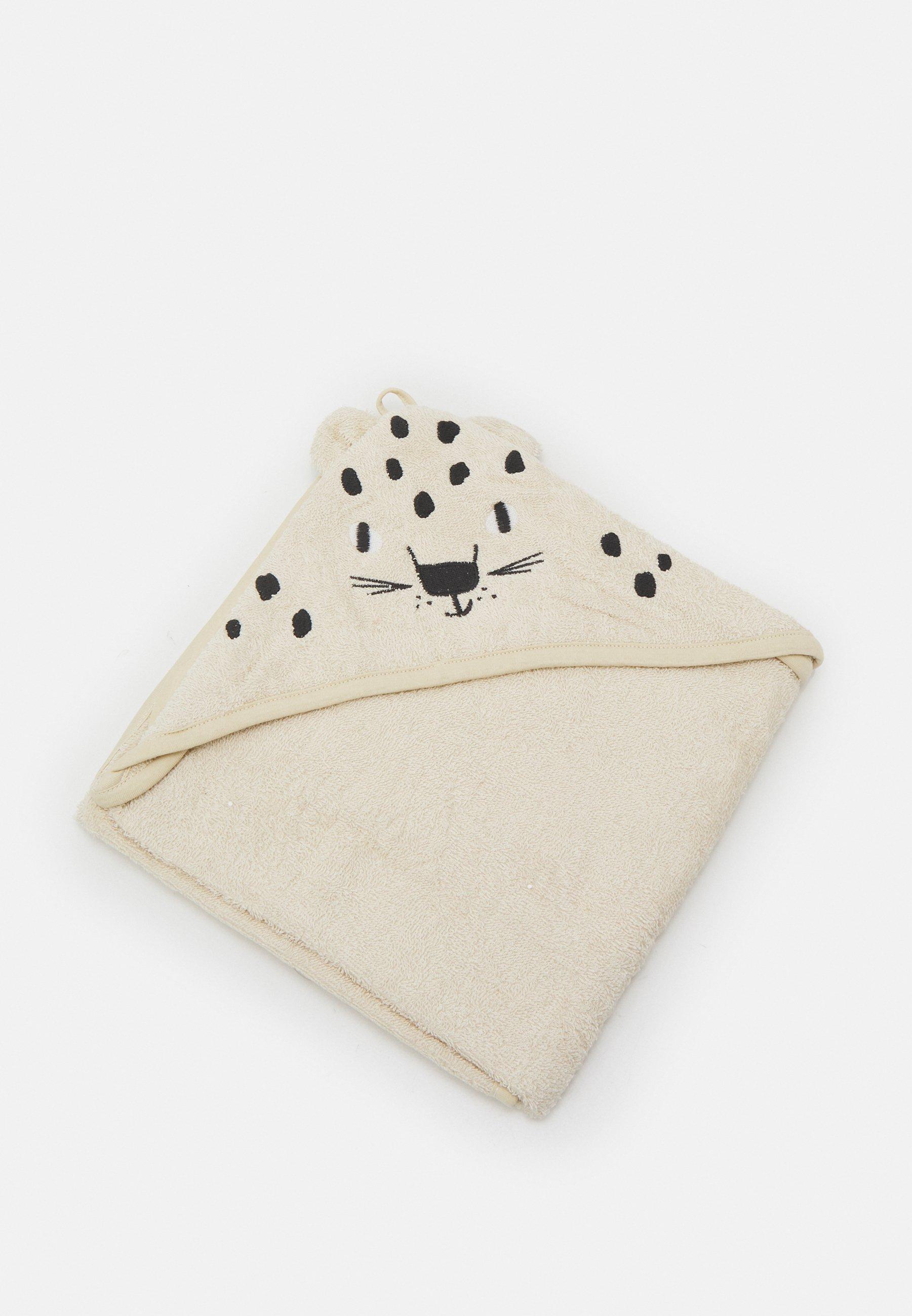 Kids TOWEL SNOW LEOPARD UNISEX - Bath towel