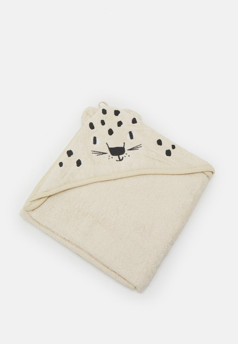 Lindex - TOWEL SNOW LEOPARD UNISEX - Bath towel - light beige