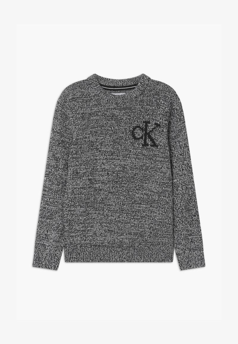 Calvin Klein Jeans - MONOGRAM - Jumper - black