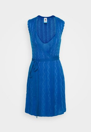 ABITO SENZA MANICHE - Jumper dress - blue