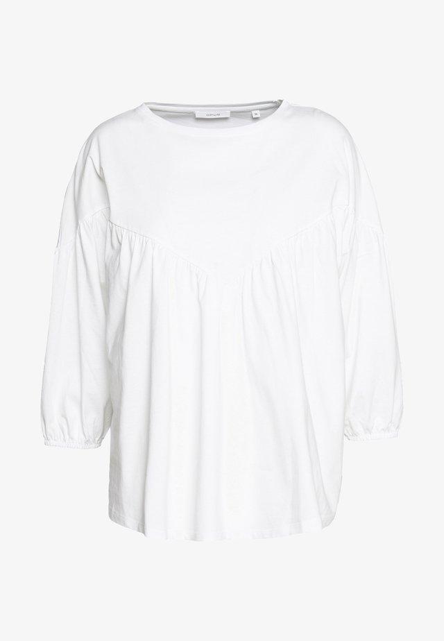 SOHEME - Camiseta estampada - white