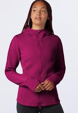 HEATLOFT  - Zip-up sweatshirt - mulberry