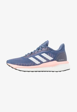 SOLAR DRIVE 19 - Neutral running shoes - tech ink/footwear white/glow pink