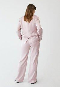 Violeta by Mango - Trousers - rosa - 2