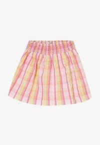 Lemon Beret - SMALL GIRLS SKIRT - Jupe trapèze - pink/yellow - 2