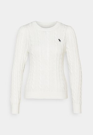 CABLE ICON MOOSE CREW - Jumper - cream