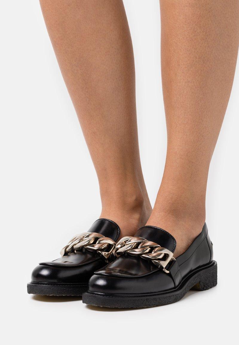 Billi Bi - Nazouvací boty - black desire