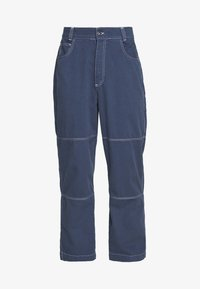 Kickers Classics - DRILL TROUSERS WITH TOPSTITCH - Tygbyxor - navy - 4