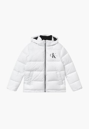 ESSENTIAL PUFFER  - Winter jacket - white