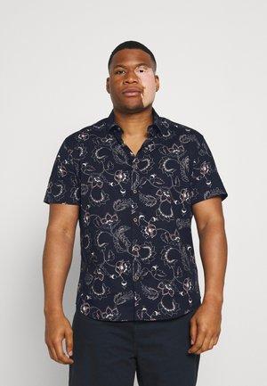 REMI PRINT SHIRT - Košile - plum