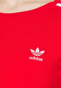 adidas Originals - ORIGINALS ADICOLOR BODYWEAR SUIT FITTED - Long sleeved top - red - 5