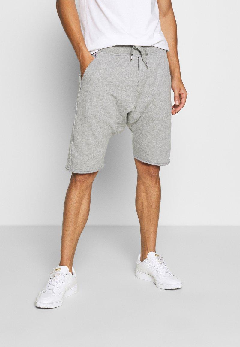 Schott - Shorts - heather grey