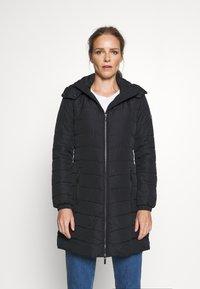Armani Exchange - CABAN COAT - Classic coat - black - 0