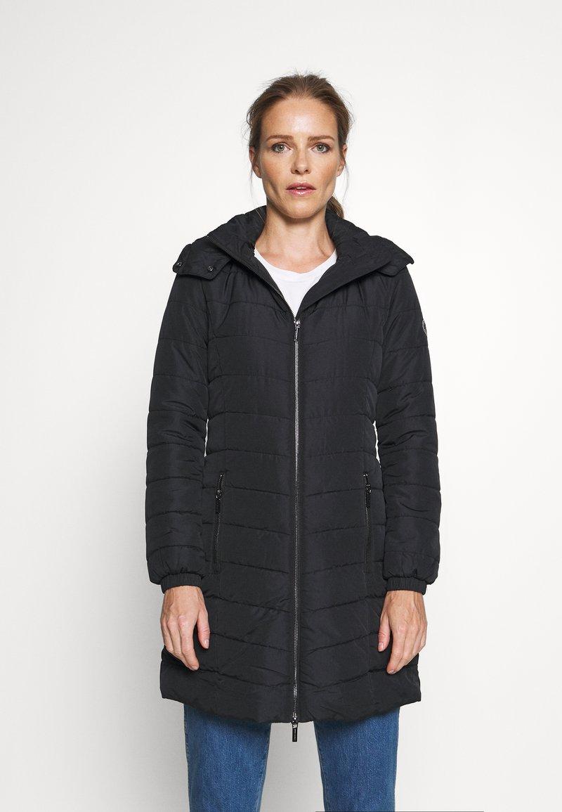 Armani Exchange - CABAN COAT - Classic coat - black