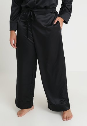 PLUS PAJAMA BOTTOM - Pyjamabroek - black