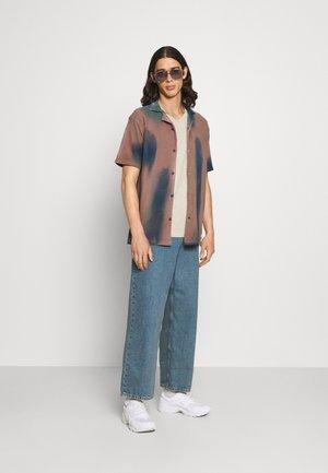 V NECK 3 PACK - T-shirt - bas - navy/grey marl/off white