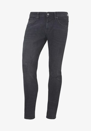 HOSEN PIERS - Slim fit jeans - black denim