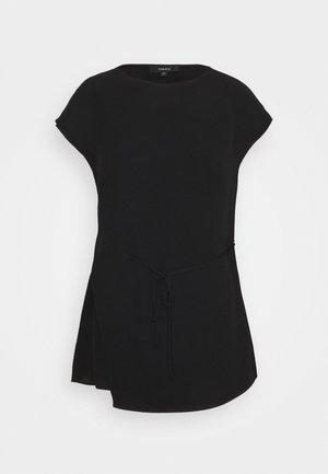 DRAPE CLASSIC - Blouse - black