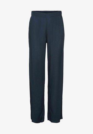 VMSIMPLY EASY WIDE PANT - Bukser - navy blazer