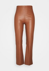 Soaked in Luxury - KAYLEE KICKFLARE PANTS - Broek - rubber - 0
