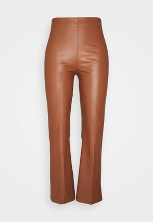 KAYLEE KICKFLARE PANTS - Trousers - rubber