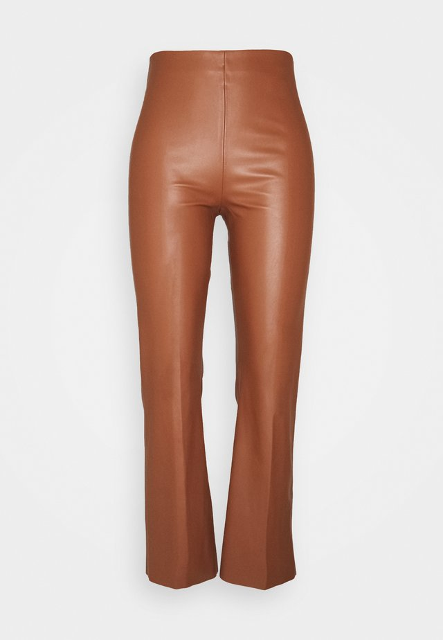 KAYLEE KICKFLARE PANTS - Pantalon classique - rubber