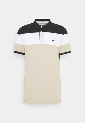 Polo shirt - black/sand