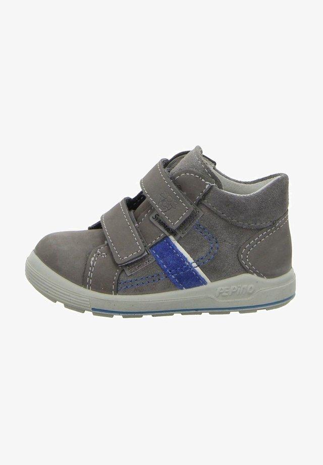 Touch-strap shoes - graphitazur