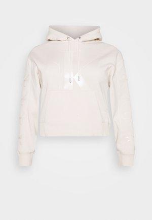 ECO - Sweat à capuche - off-white