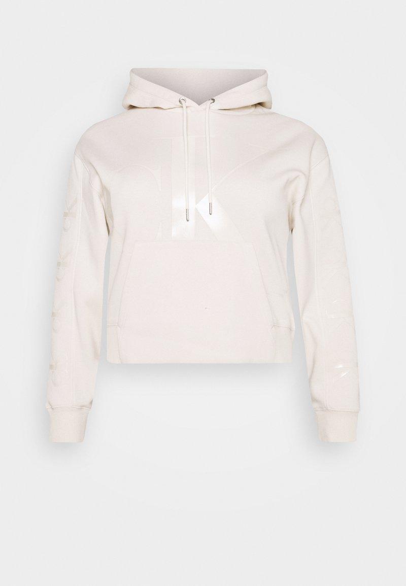 Calvin Klein Jeans Plus - ECO - Hoodie - off-white