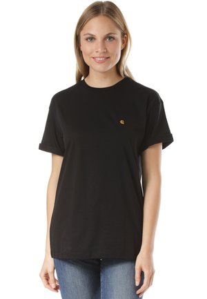 CHASY - Basic T-shirt - black