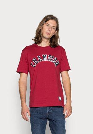 BOOKSTORE CREWNECK - T-shirt print - dark red
