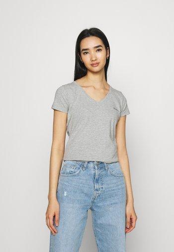 BEA 2 PACK - T-shirts - black/grey