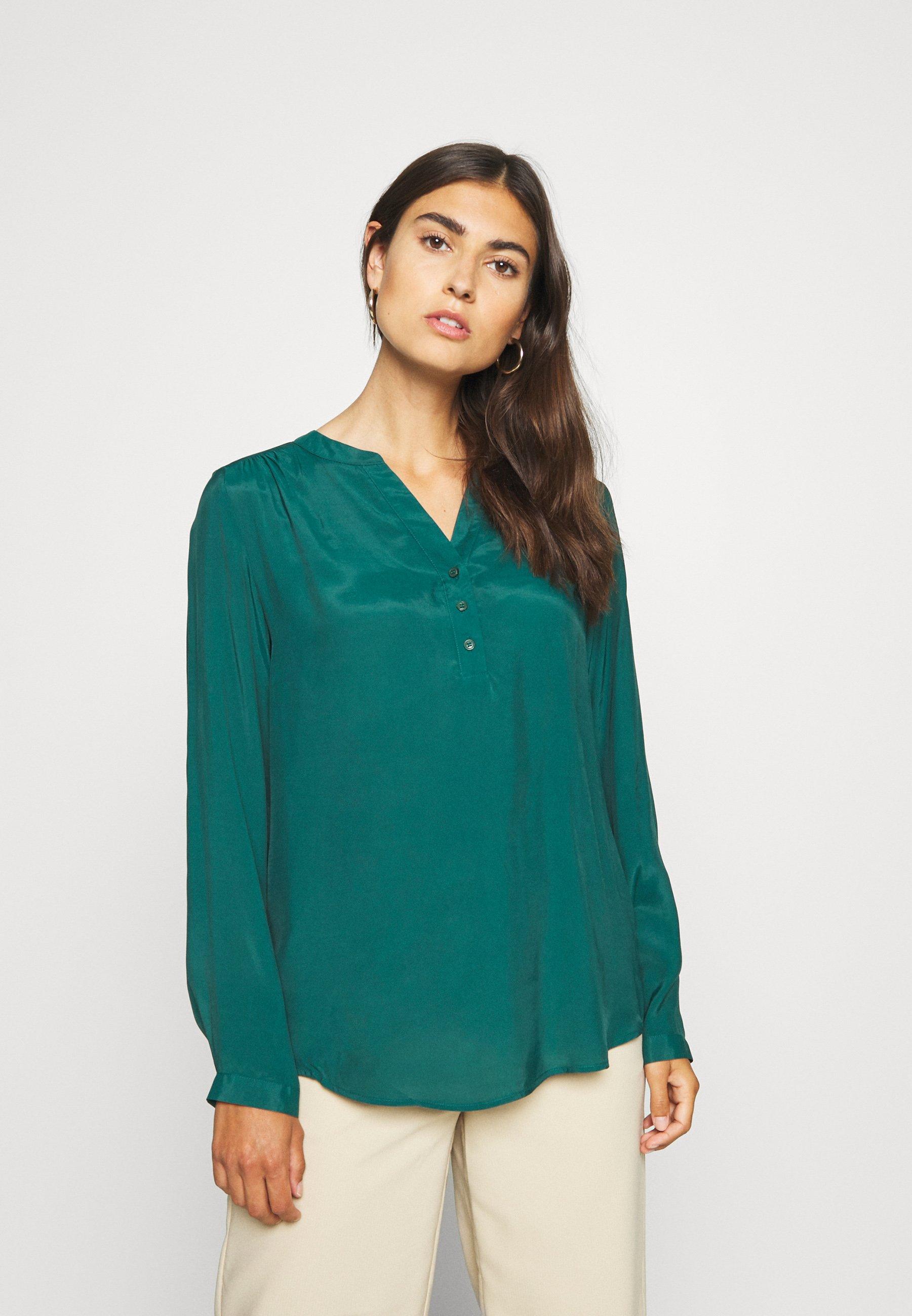 Low Cost Women's Clothing Seidensticker REGULAR FIT Blouse green zChvJhYxc