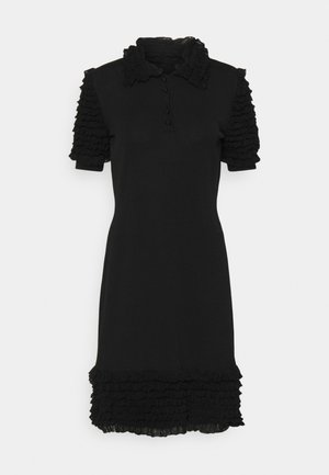 DRESS - Shirt dress - black