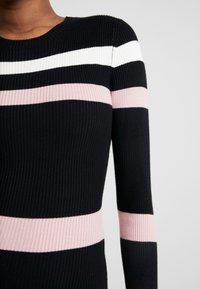 Anna Field - Etui-jurk - black/pink/white - 5