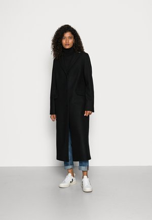 Klassisk frakke - black