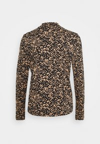 Cream - DIBA TURTLENECK - Long sleeved top - beige/black - 1