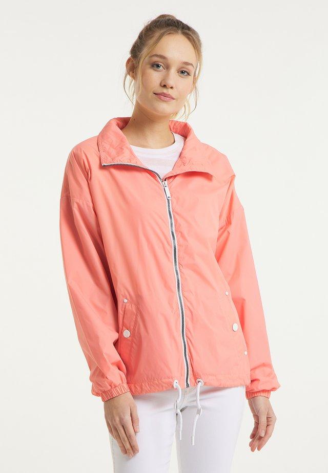 Training jacket - flamingo