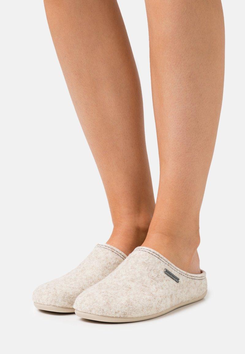 Shepherd - CILLA - Slippers - beige
