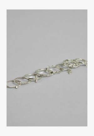 8ER-SET - Ring - silver-coloured