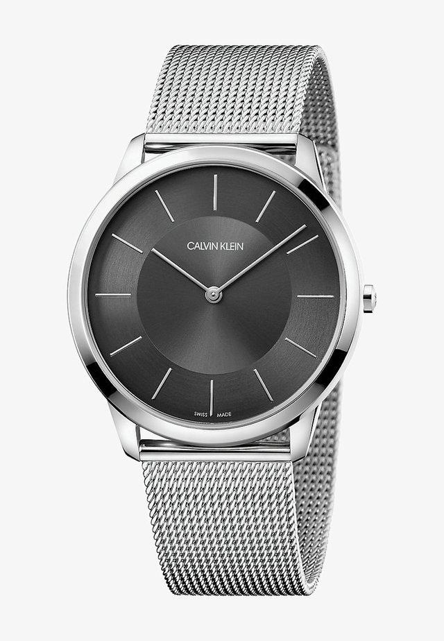 MINIMAL  - Uhr - silber