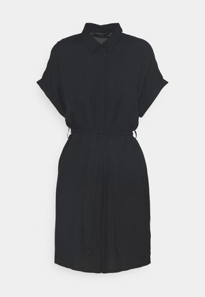 VMSIMPLY EASY SHIRT DRESS - Skjortekjole - black