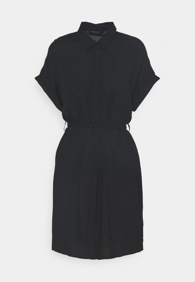 VMSIMPLY EASY SHIRT DRESS - Shirt dress - black