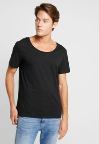 Pier One - T-shirt - bas - jet black - 0