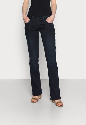 VALERIE - Bootcut jeans - camenta wash