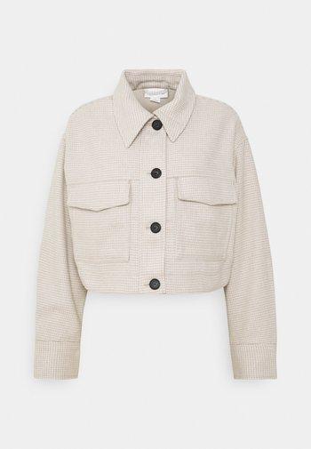 Summer jacket - white light