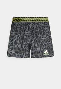 adidas Performance - PROMO ADIZERO SPLIT PRIMEGREEN RUNNING SHORTS - Sports shorts - grey six - 0