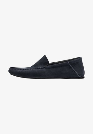 SLIPPER AUS RAULEDER - Slippers - blue